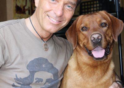 Peter Wolf mit Luigi 2